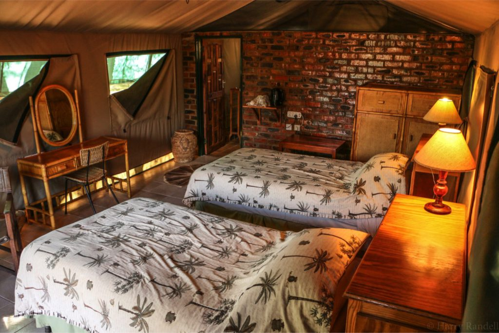 tented camp , luxury safari